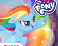 My Little Pony arco iris corredores