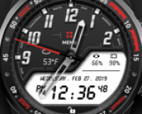 Challenger Watch Face
