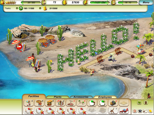 Free Download Paradise Beach