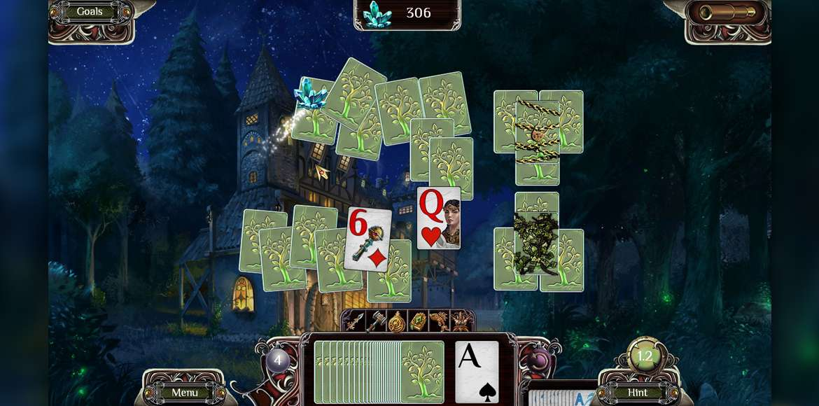 Os Reinos Extremo: Bosque Sagrado Solitaire Free Full Download