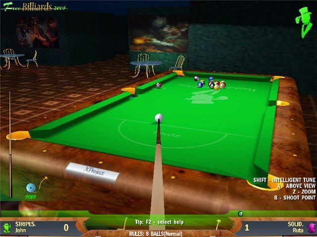 Free Download Free Billiards 2008